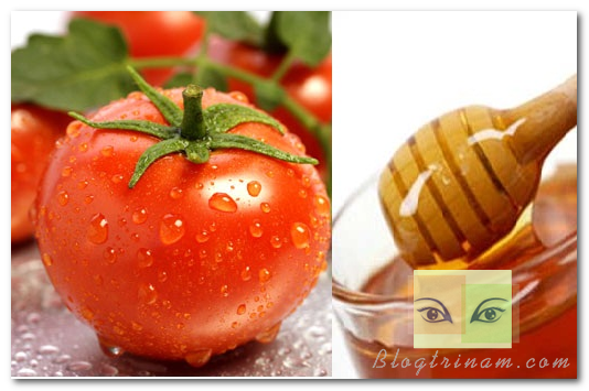 Trị nám da với cà chua và mật ong