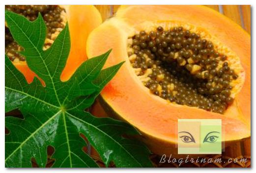 Mặt nạ trị nám từ đu đủ và mật ong thiên nhiên