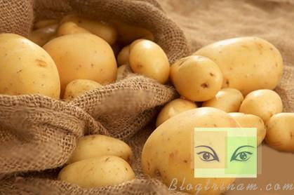 3 Phút với 5 cách trị nám da hiệu quả từ khoai tây