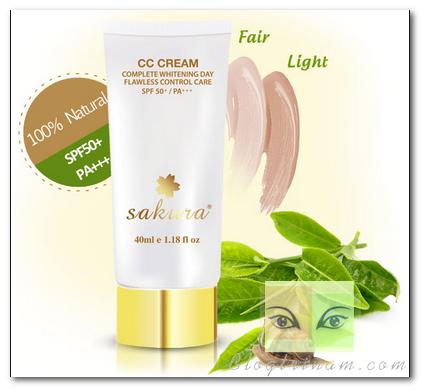 Cách chữa trị nám hiệu quả bằng CC Cream