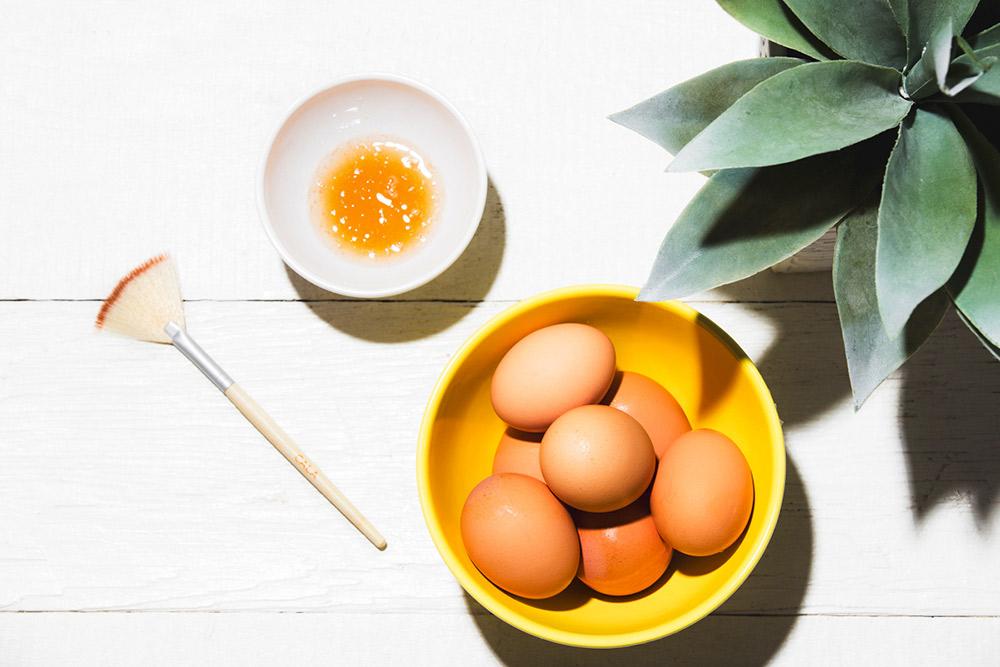 4 mặt nạ trị nám hiệu quả từ trứng tuyệt đỉnh