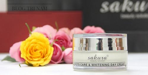 BẤT NGỜ với công dụng trị nám của bộ mỹ phẩm Sakura Nhật Bản