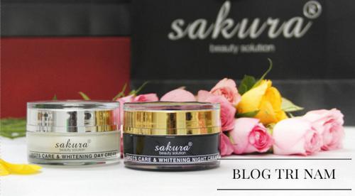BẬT MÍ công dụng SIÊU KHỦNG của kem trị nám Sakura nhật bản