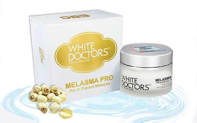 Kem đặc trị nám tàn nhang White Doctors Melasma Pro