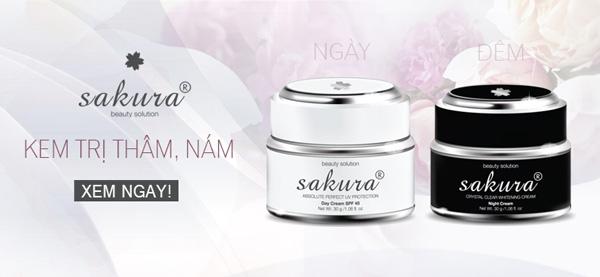 Giới thiệu dòng mỹ phẩm trị nám Sakura cao cấp